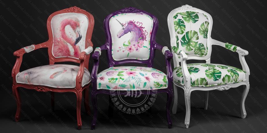 صندلی های تکی فانتزی