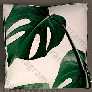 کوسن استوایی سبز رنگ