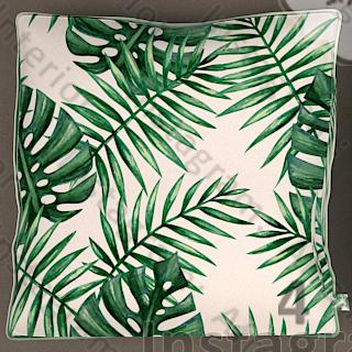 کوسن برگ نخل استوایی سبز